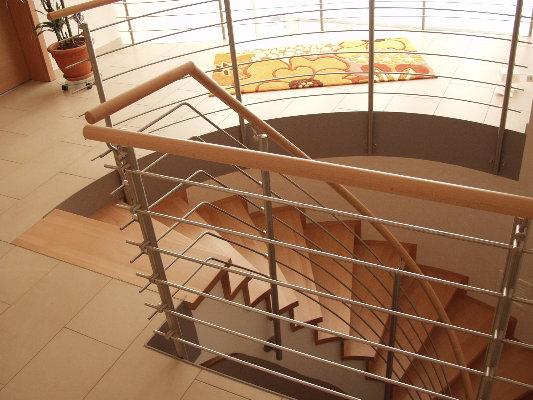 gewendelte treppe zeichnen erstellen des gel nders an. Black Bedroom Furniture Sets. Home Design Ideas