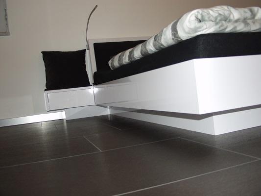 doppelbett weiß mit bettkasten | rheumri, Hause deko